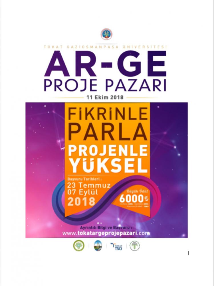 AR-GE Proje Pazarı - 11 Ekim 2018